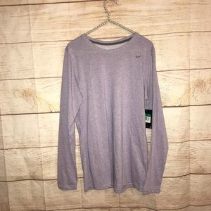 Nike dri fit women's XL purple long sleeve